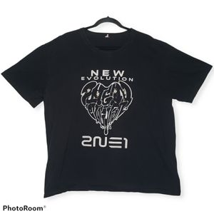 New Van Halen 2009 Tour Concert Band T-Shirt size S-2XL Pinup Girl Guitar Hero.